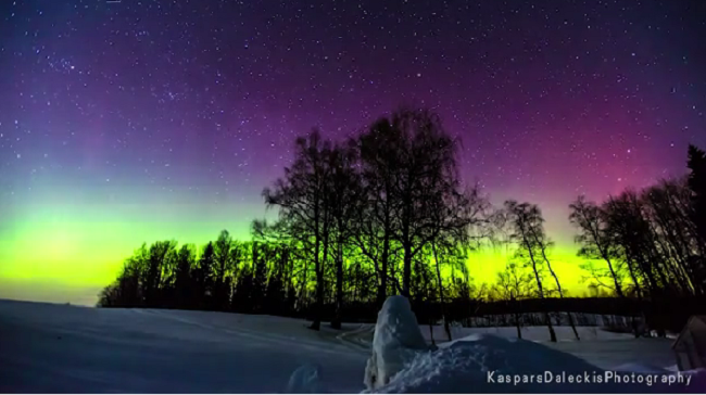This Stunning Time-Lapse Video Captures The Amazing Beauty Of The Northern Lights. Spectacular!