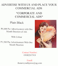 Advertise your Corporate and Commercial Ads