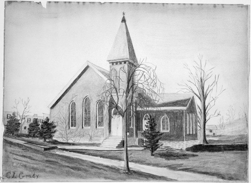 Draw A Church Beautiful Drawing