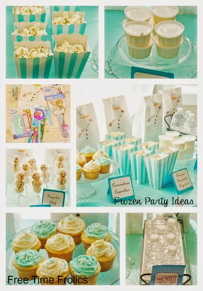 Frozen Birthday Party Ideas www.freetimefrolics.com #frozen #birthday