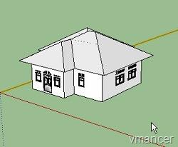buat gambar properti yang dipasarkan menggunakan Google SketchUp