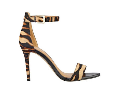 Nine West Barely There animal high heels