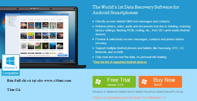 Hướng dẫn khôi phục dữ liệu trên máy Android