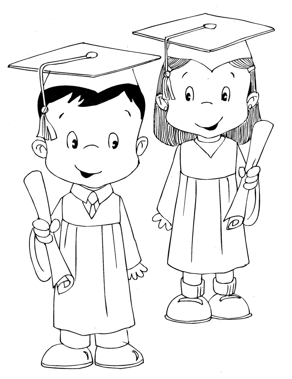 Moldes y figuras de sucha foami graduacion - Coloriage intelligent ...