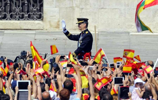 incoronarea Regelui Filip al VI-lea al Spaniei