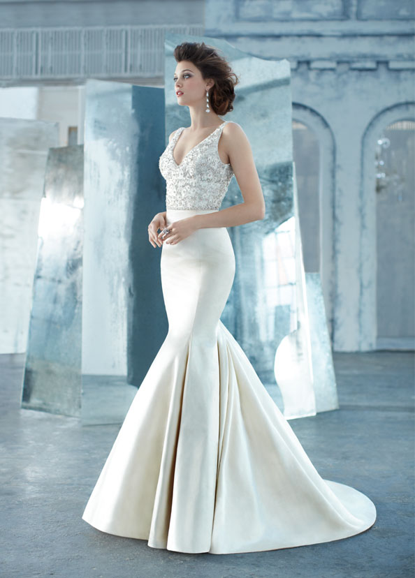 All for weddings lazaro wedding dresses 2013 1 for How much is a lazaro wedding dress