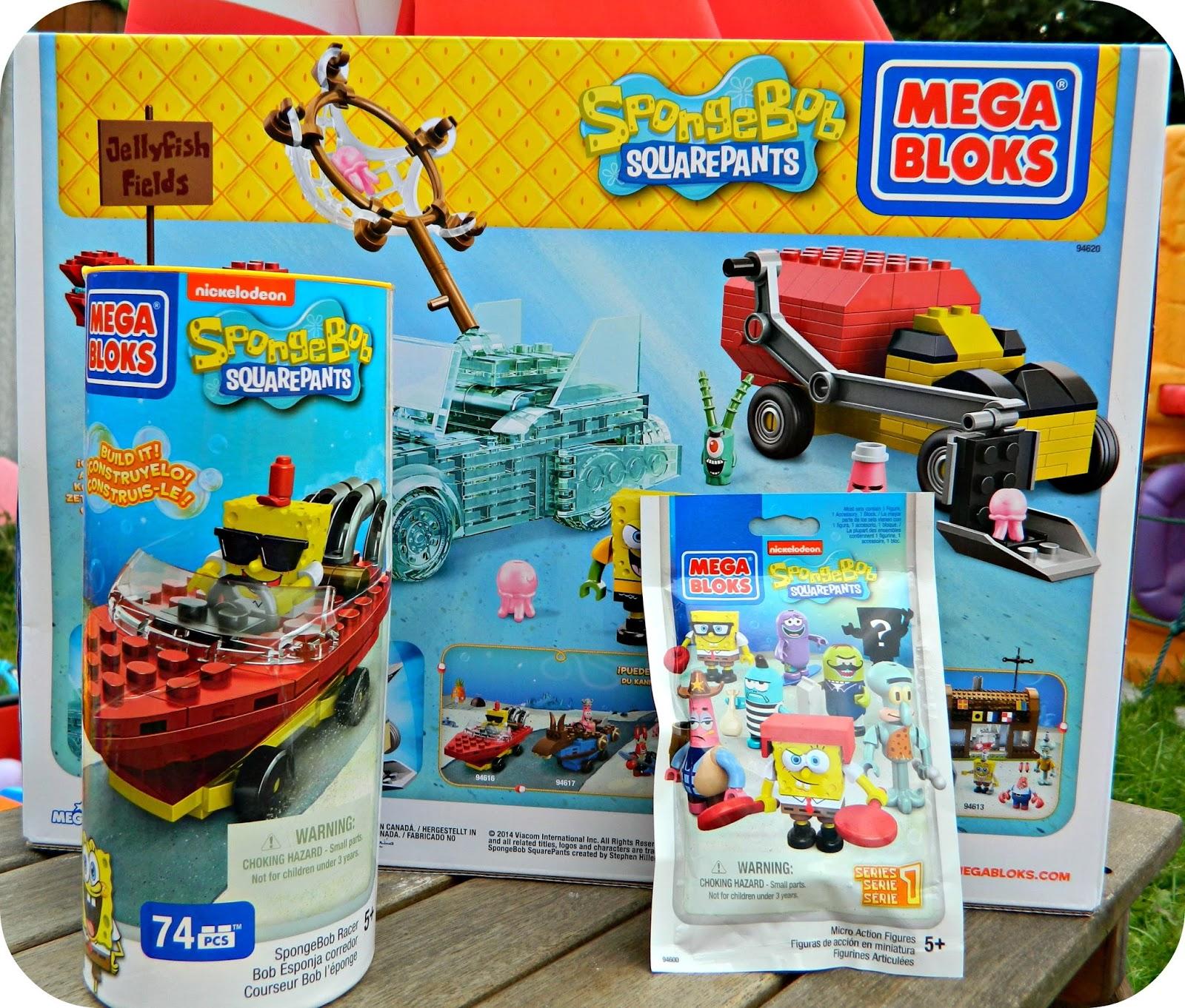 Spongebob Squarepants Mega Bloks