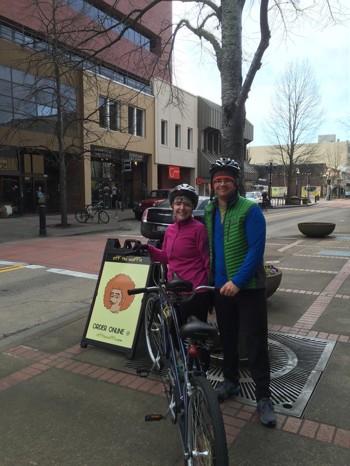 Tandem Bike Date Spring 2015