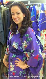 Japanese Silk Kimono from Kimono House NY 212-505-0232 thekimonohouse.com