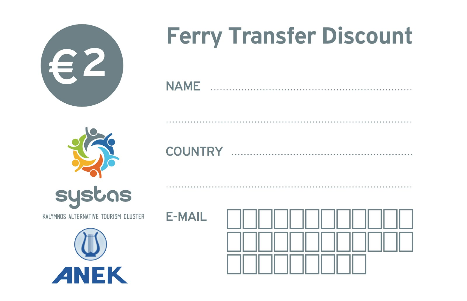 ANEK Ferry Transfer Discount