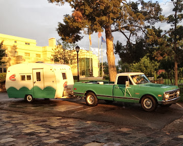 Our Vintage Truck and Trailer