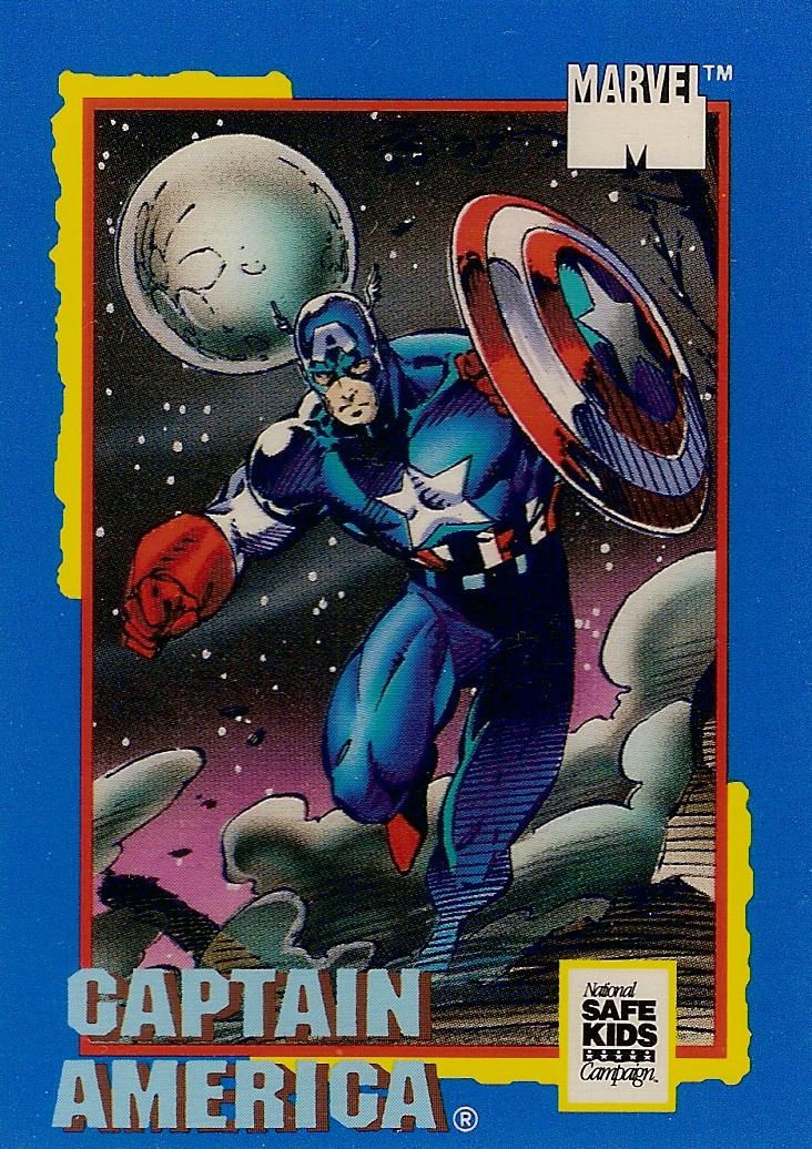 Marvel Universe Trading Card Treats (1991)