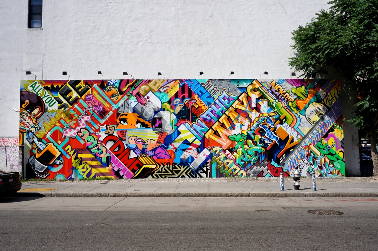 Revok x pose mural on bowery houston les new york for Mural 7 de setembro