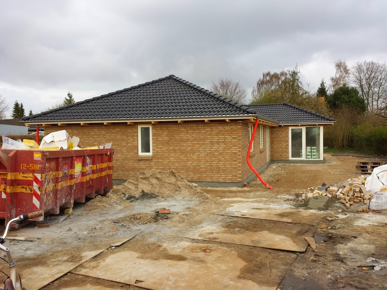 Vores Huscompagniet-hus er næsten færdigt