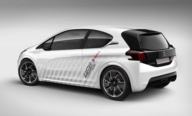 Peugeot 208 Hybrid FE rear