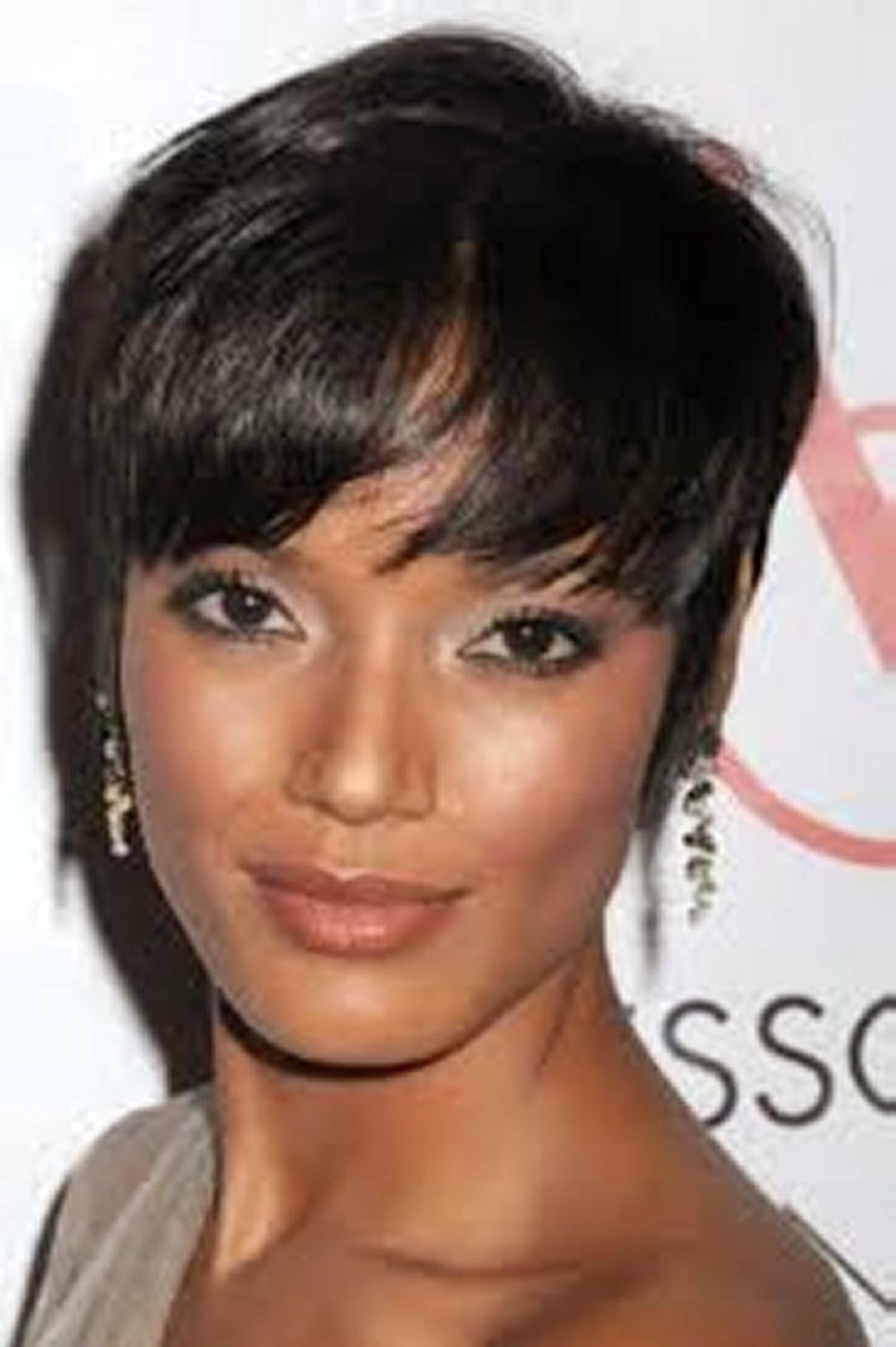 Cu cute bob hairstyles for women over 50 - Short Pixie Hairstyle For Black Women