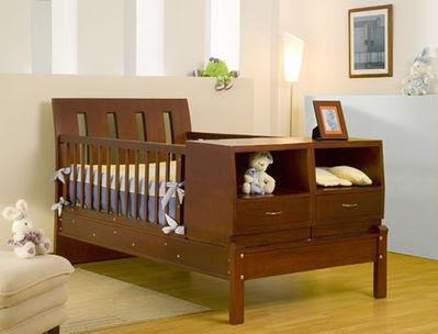Las cunas de madera para el cuarto de los peque os - Cunas rusticas para bebes ...
