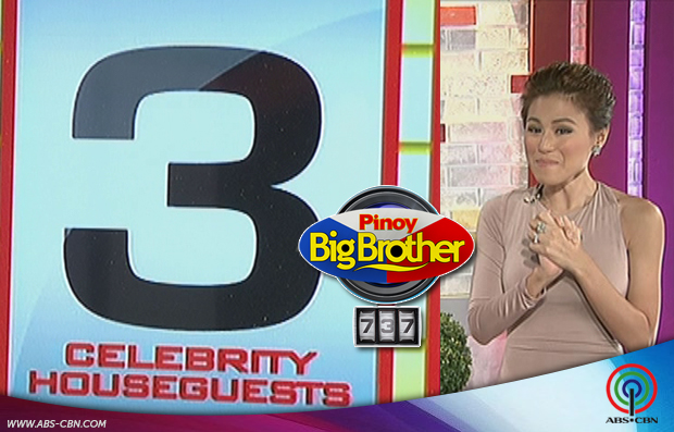 PBB 737 names 3 celebrity houseguests to enter Big Brother house