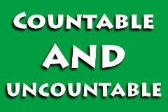 Countable Nouns dan Uncountable Nouns