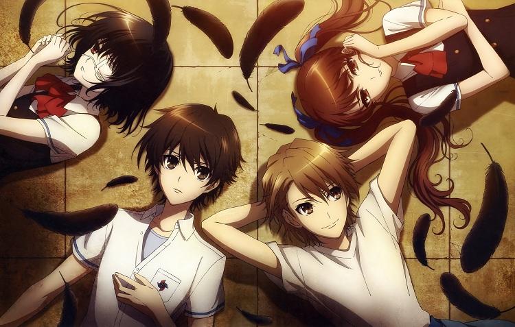 Mei, Koichi, Izumi, and Naoya together