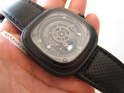 SOLD SEVEN FRIDAY BLACK EDITION CASE - SF P3 01 - AUTOMATIC