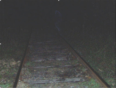 Real Ghost Photo: Gurdon Man, Ghost on the Railroad Tracks