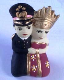 souvenir Boneka polisi-makasar
