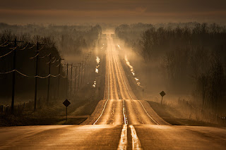 Misty Highway, Ontario, Canada