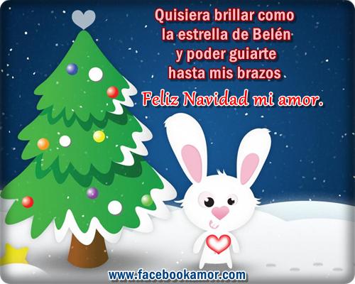 tarjetas bonitas de amor para navidad enviar en facebook