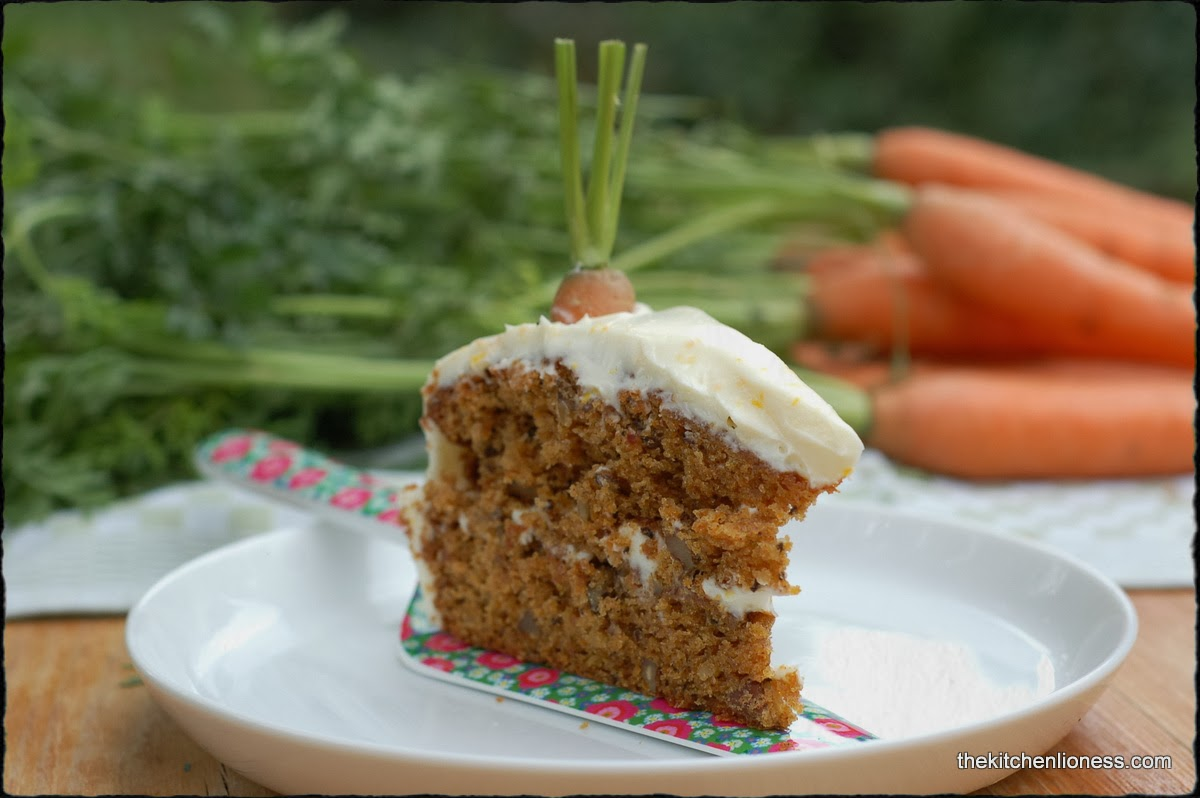 Nigella Slater Carrot Cake