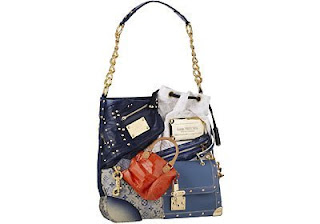 8. Louis Vuitton Tribute Patchwork Bag
