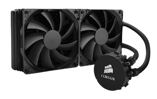 Corsair Hydro Series™ H110 280mm High Performance Liquid CPU Cooler Review screenshot 1