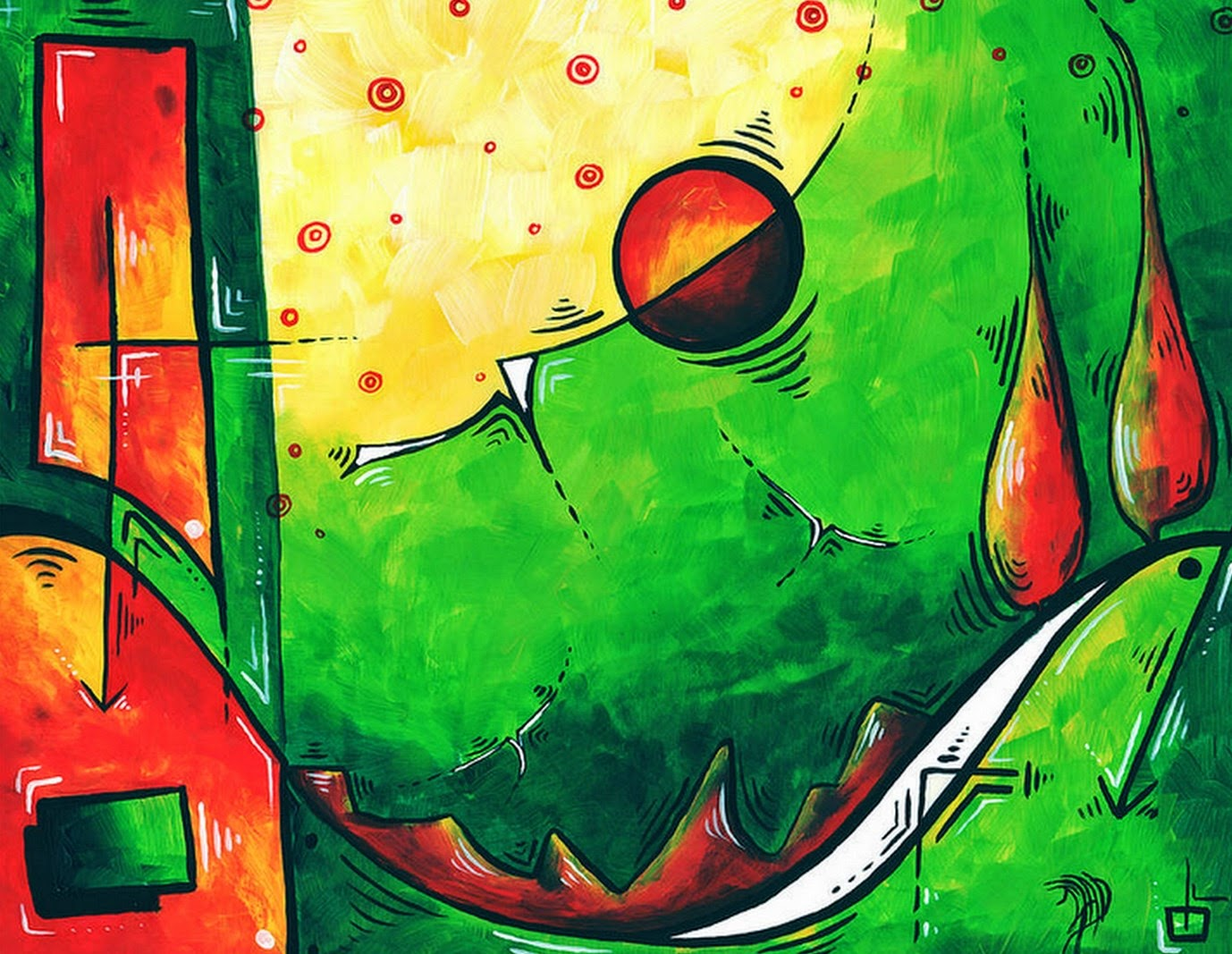 Pintura Moderna y Fotografía Artística : Dibujos Fáciles Para Pintar ...