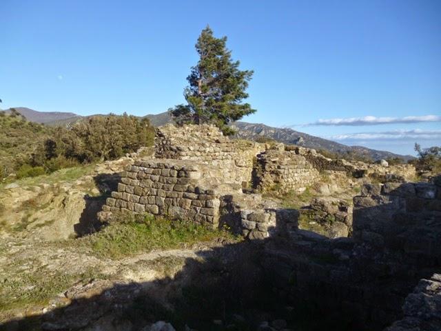 Ruinas del convento benedictino
