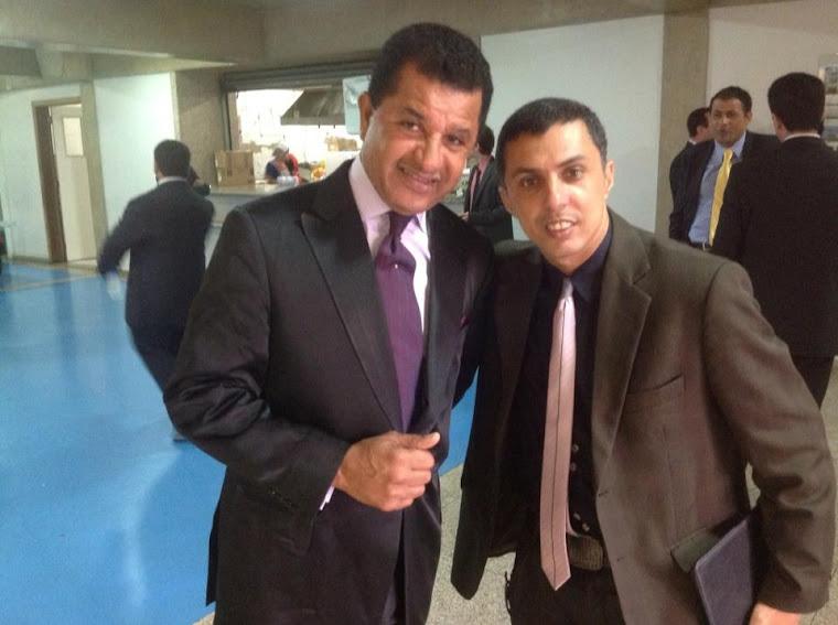 Pr. Abilio Santana e Pr. Andre Bruno na AD Brás Sp.