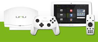 unu : tablette / console de jeu / Smart TV