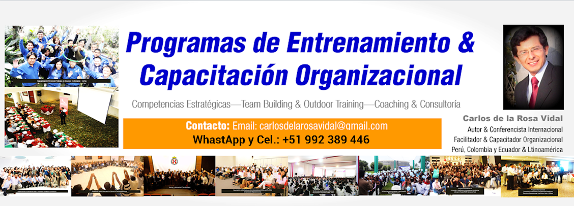 Conferencias Motivacionales | Carlos de la Rosa Vidal | Conferencista Motivacional