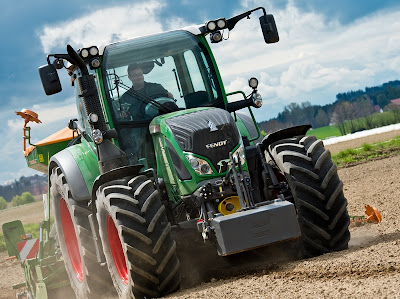 Cignik Fendt 500 Vario w pracy