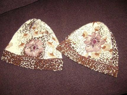 czapki ze starych swetrow