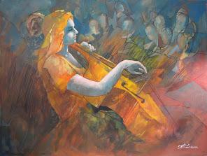"""Cellist 30x40"""""""