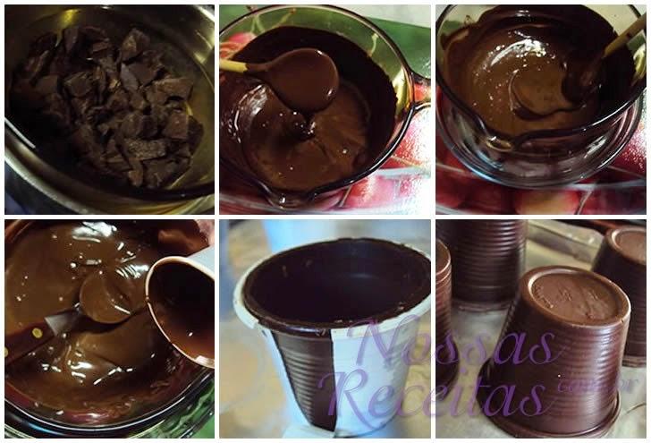 Receita de como temperar o chocolate - temperagem