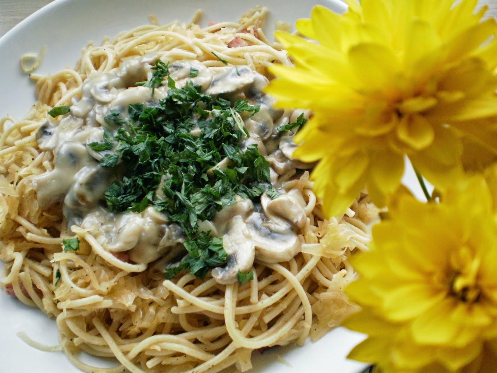 Łazankowe spaghetti