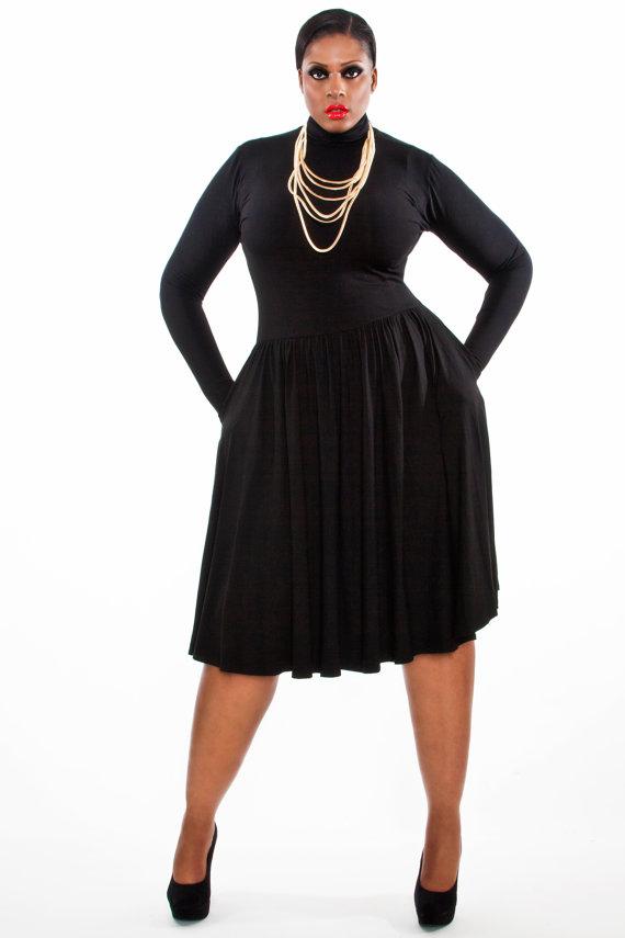 IGIGI | Millie Vintage Polka Dot Dress | Big Girl Curves - Style ...