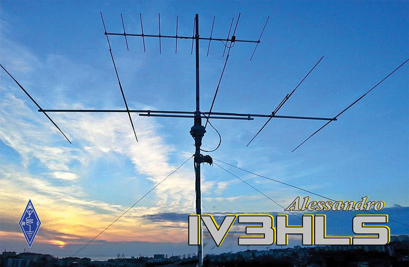 My special 6m/2m QSL