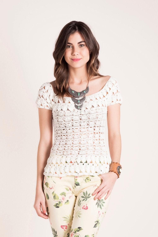 crochet beauty summer sweater for girl