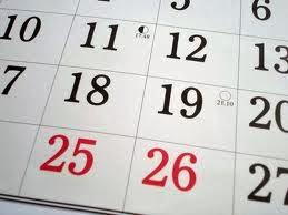 SMGFL Calendar