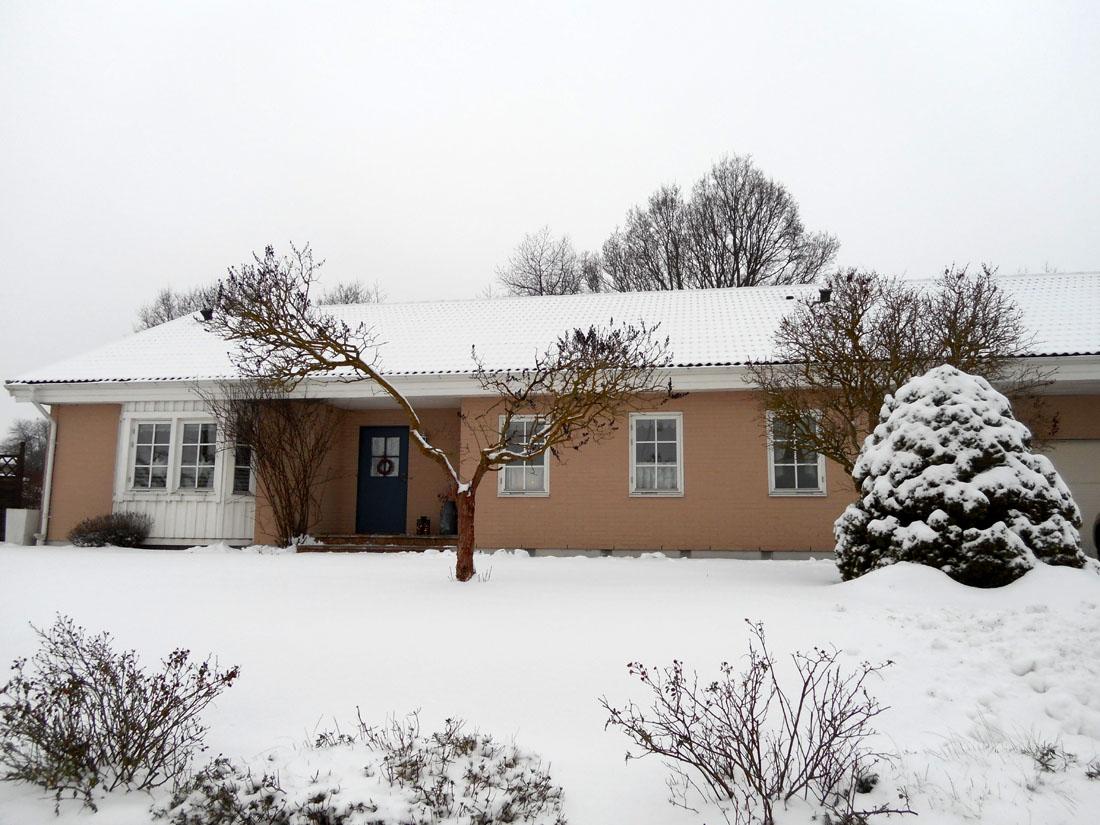 Casa sotto la neve :-)