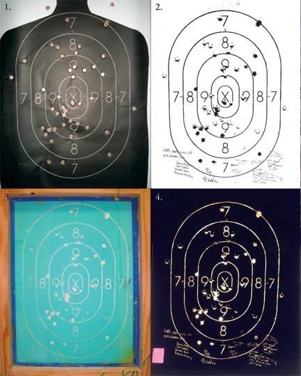 target practice paper. target practice sheets. d