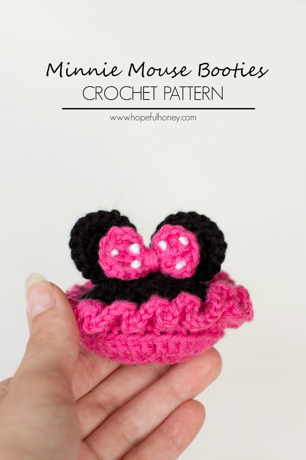 Free Crochet Pattern For Minnie Mouse Hat