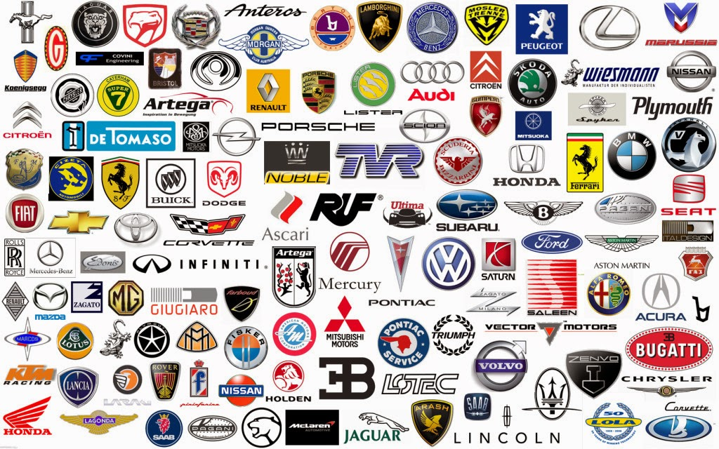 All Car Logos Wallpaper Background